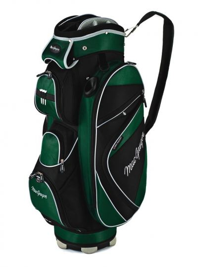 Cart Bag - Green and Black