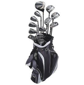 Maxfli Men's Black MaxG Complete Golf Club Set
