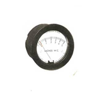 Minihelic pressure gauge