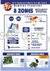 DFA-3300 8 Zones  DFA Burglary Alarm System