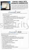 Premier 816  Texecom Burglary Alarm System