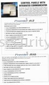 Premier 412  Texecom Burglary Alarm System