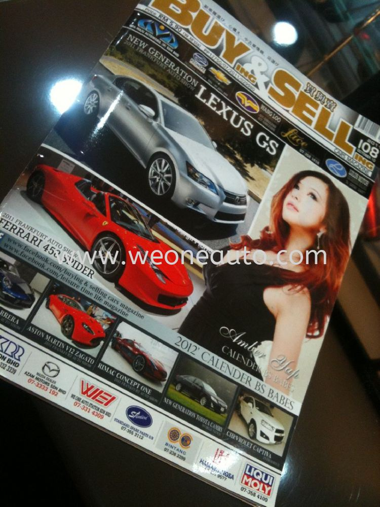 WE ONE AUTO STATION IN BUY & SELL MAGAZINE