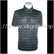 900450-S/S Men's Poly Pique Dye Stripe Polo
