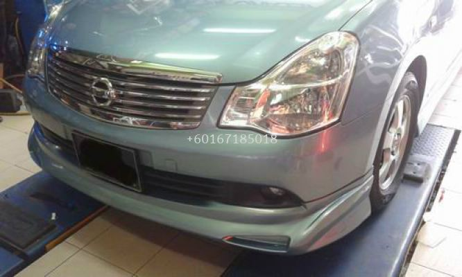 IMPUL ABS BODYKIT AND SPOILER FOR NISSAN SYLPHY