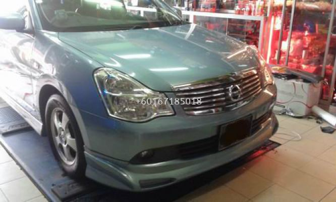 NISSAN SYLPHY IMPUL ABS BODYKIT AND SPOILER