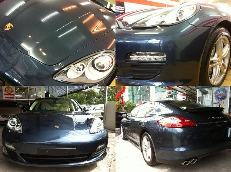 Porsche Panamera - Percenta Paint Coating at Supwave!