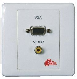 VGA&Video Socket Panel