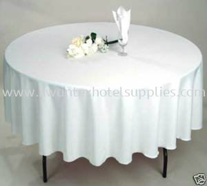 Half Round Table Cloth (drop 12'' each side)
