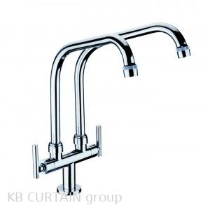 Double Pillar Sink Tap A-7105