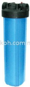 20;quot; Big Flow Housing Filter - Blue Filter Housings Portable Housings