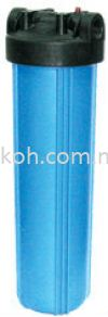 20;quot; Big Flow Housing Filter - Blue Filter Housings Portable Housings