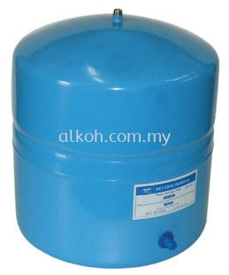 11 Gallon Stainless Steel Storage Tank - Blue