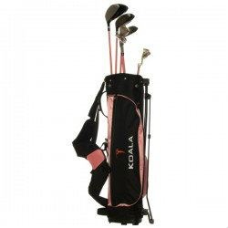 Koala Pink Rosa Junior Kids Golf Set
