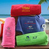 Personalized Corporate Logo Beach Towels