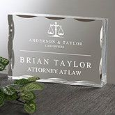 Personalized Corporate Engraved Logo Acrylic Plaque