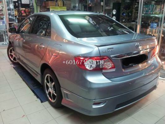 TOYOTA NEW ALTIS BODYKIT SPORTIVO