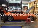 porsche in orange! special car sticker design in we one auto station!!!  Car Sticker Design