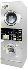 Self-Service Commercial Stack Washer Dryer Stack Washer / Dryer