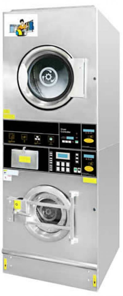 Self-Service Commercial Stack Washer Dryer
