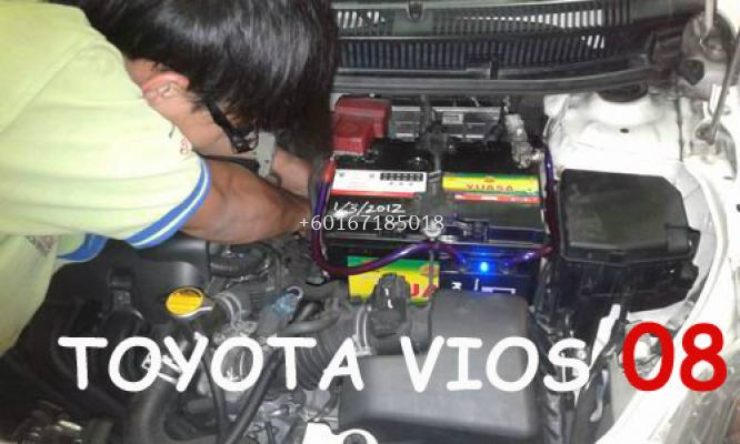 POWER CHARGER  NEW TOYOTA VIOS
