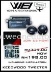 KENWOOD TWEETER SALES!!! weekly member offer