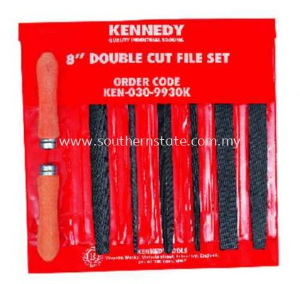 Kennedy Engineer��s Double Cut File Set