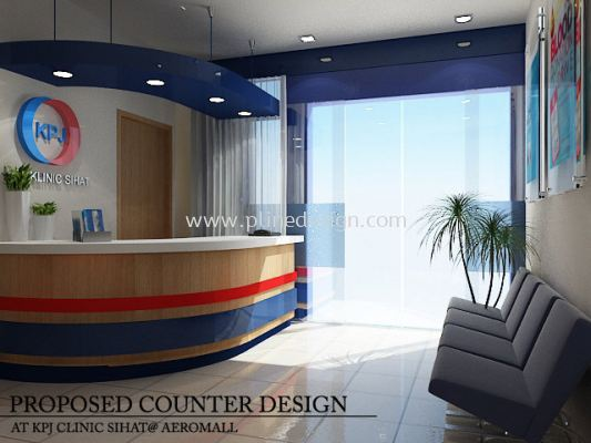 Hospital Counter Design