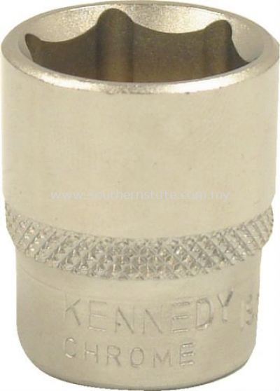 Kennedy Single Hexagon Standard Lenght Socket