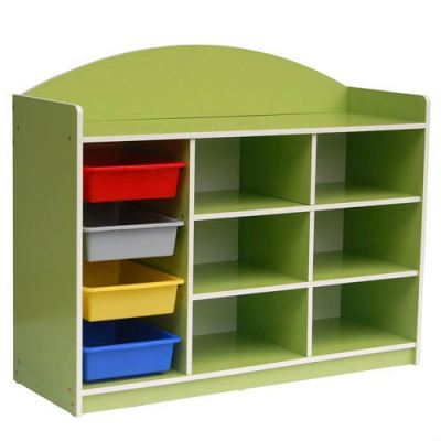 QU005-C Economy Manipulatives Storage Shelf