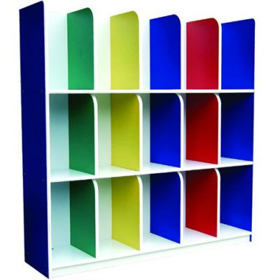 Q006 Bag Cubby Shelf