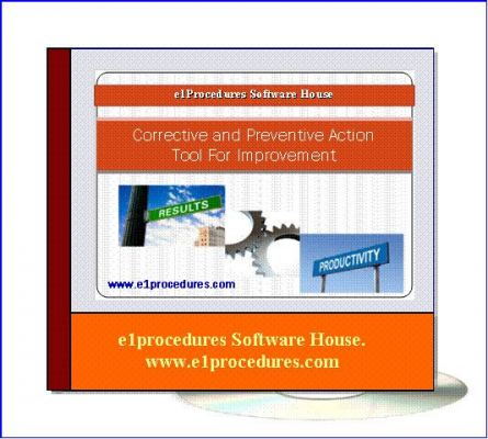 Corrective and Preventive Action For Improvement - Free Download