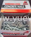 Hardened Steel Concrete Nails Steel Concrete Nails