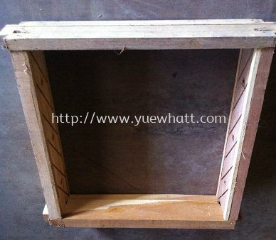 Wooden Window Frame 2' X 2'