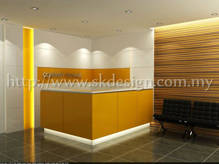 Commercial Design Counter and Reception Area COUNTER RECEPTION DESIGN
