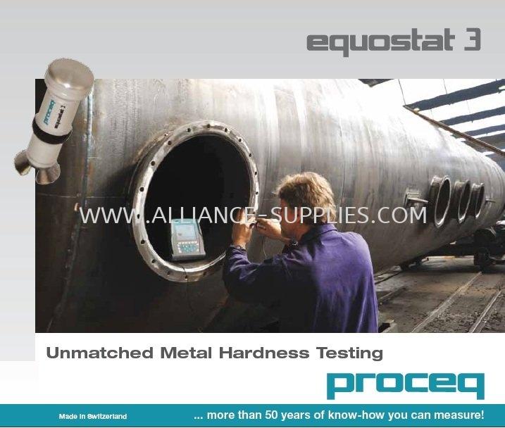 4.1.3 PROCEQ Equostat 3-Metal Hardness Testing 4.1 Portable Hardness Tester 04.PROCEQ
