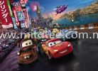 4-401_Cars_Race_k KOMAR- DISNEY Wallpaper (0.53m x 10m)