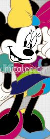 1-422_Minnie_Colorful_k KOMAR- DISNEY Wallpaper (0.53m x 10m)