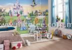 8-414_Princess_Interieur_i KOMAR- DISNEY Wallpaper (0.53m x 10m)