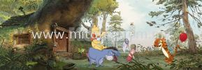 4-413_Winnie_PoohsHouse_k KOMAR- DISNEY Wallpaper (0.53m x 10m)