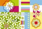 2-907_Mix&Match_k KOMAR -Vol 13 Wallpaper (0.53m x 10m)