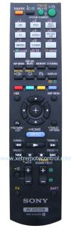 RM-AAU074 SONY HOME THEATER REMOTE CONTROL  (original) SONY HOME THEATER REMOTE CONTROL