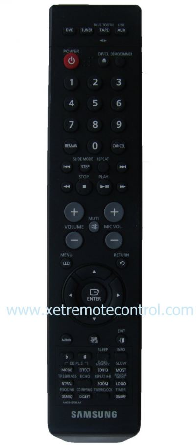 AH59-01961A SAMSUNG HOME THEATER REMOTE CONTROL  (original)