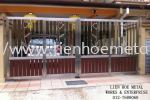 S89 Open Gate And Aluminium and Tempered Glass Stainless Steel