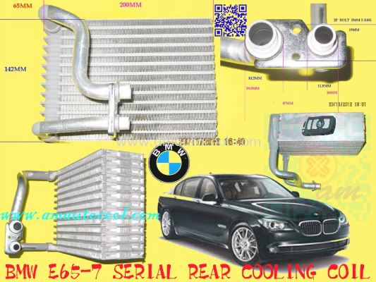 (CLC)  BMW E65-7 Rear Cooling Coil