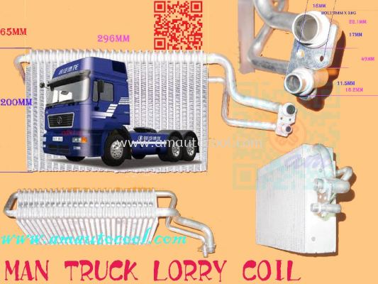 (CLC)  Man Truck Lorry Cooling Coil