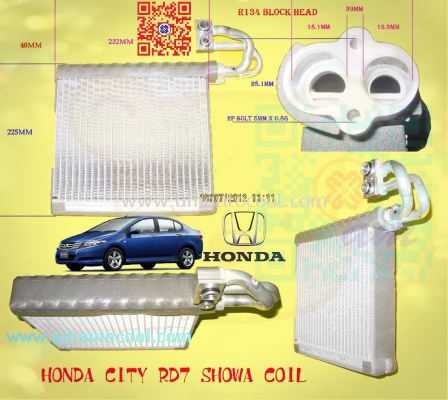 (CLC)  Honda City RD7 Cooling Coil