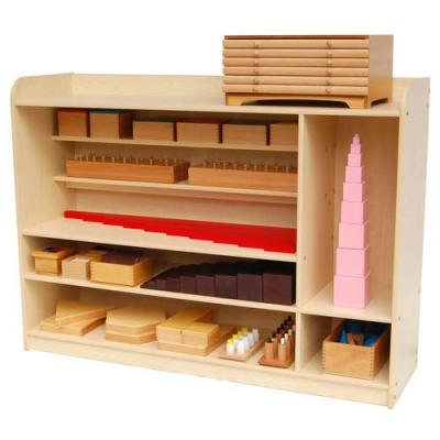 QW027 Montessori Sensorial Shelf