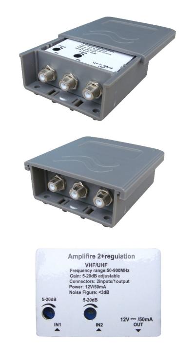 AMPLIFIRE 2 + REGULATION