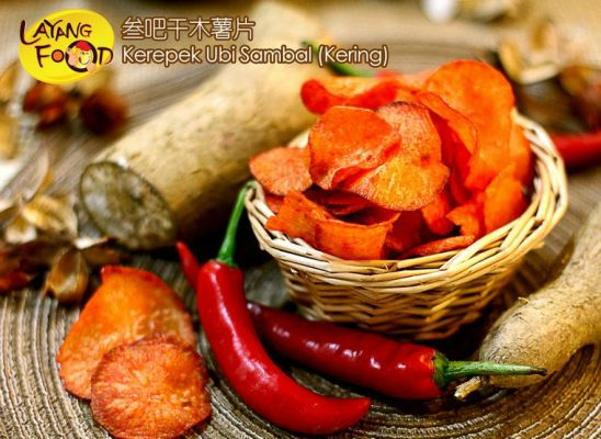 Tapioca Chips (Dried Chili Paste) ���ɸ�ľ��Ƭ